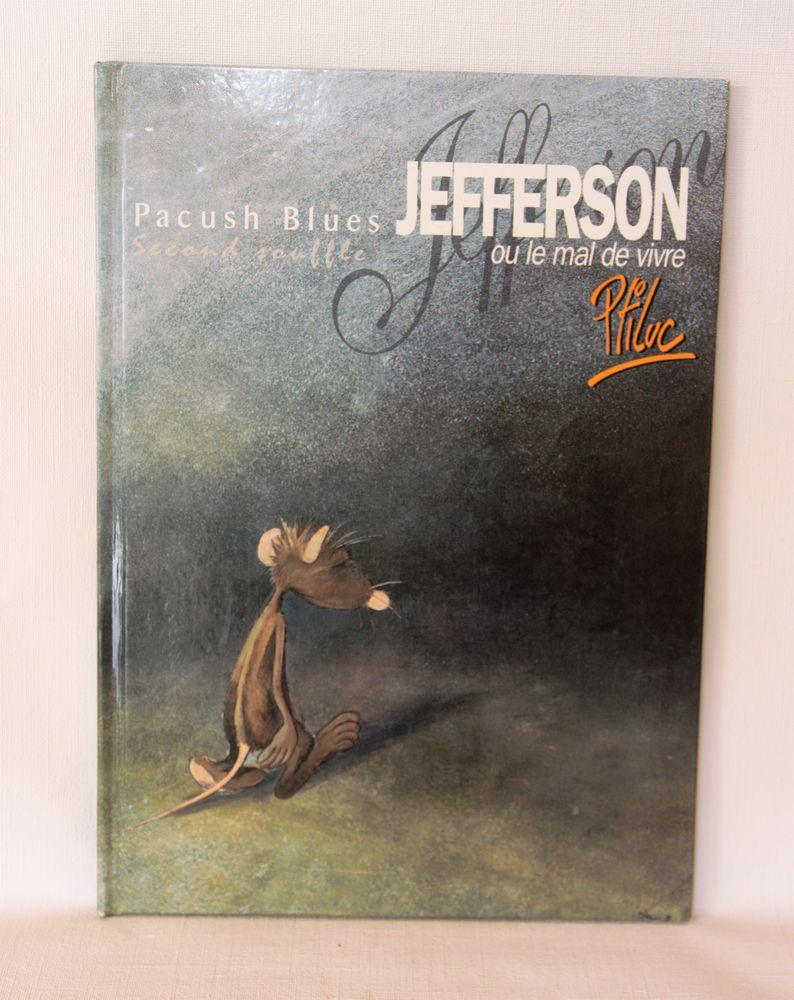 BD Jefferson ou le mal de vivre. Pitluc. Pacush Blues. 6 Sceaux (92)