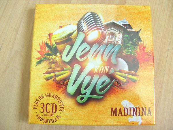 CD Jenn Kon Vyé  Madinina  (3 CD - Neufs) 20 Ardoix (07)