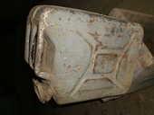 Jerricane ancien Marque W^D. 25 Agen (47)