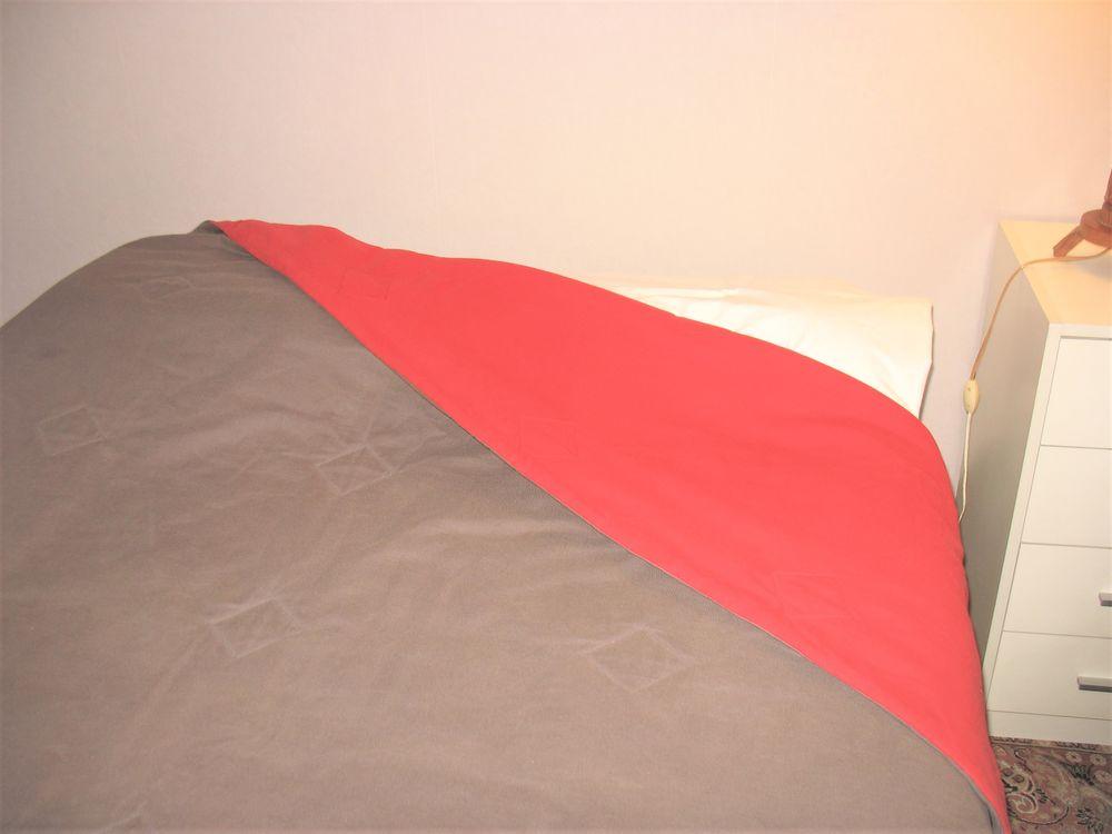 Jeté de lit matelassé,  réversible, bicolore 0 Besançon (25)