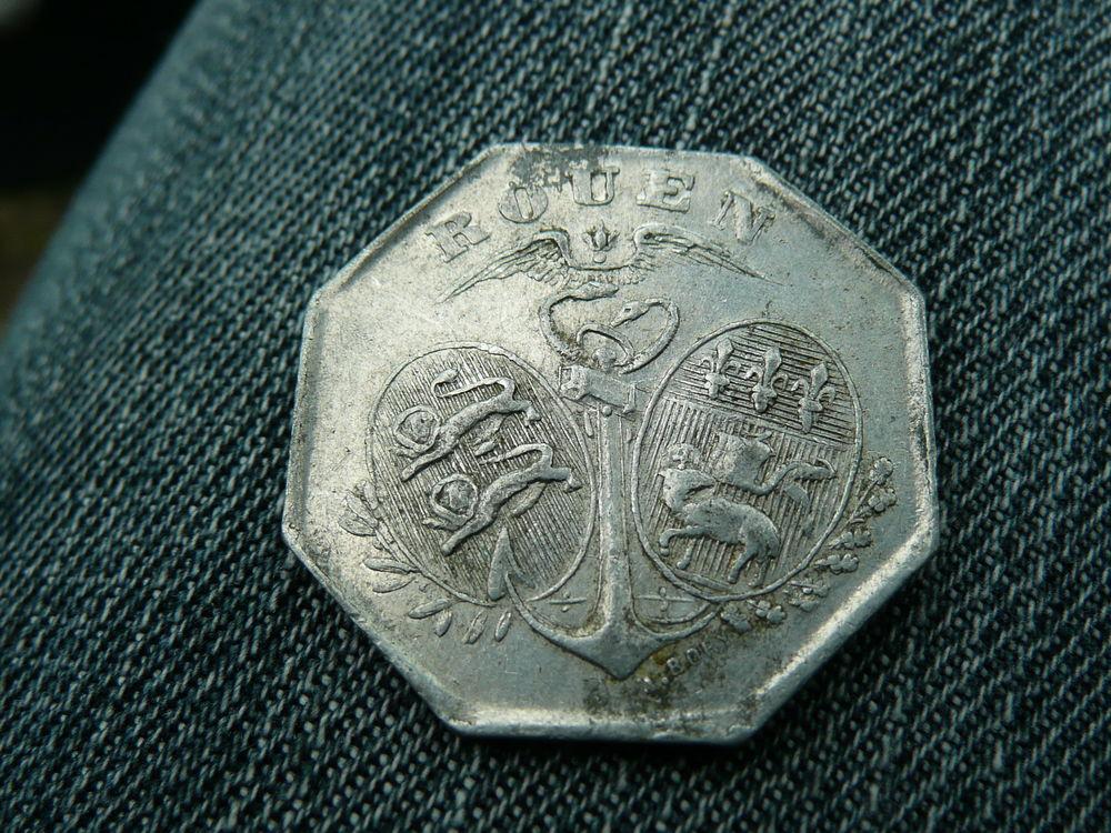 Jeton Alu 10 centimes chambre de Commerce 1918 8 Bordeaux (33)