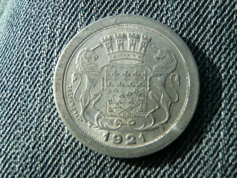 Jeton 10 centimes Chambre de Commerce Amiens 1921 4 Bordeaux (33)