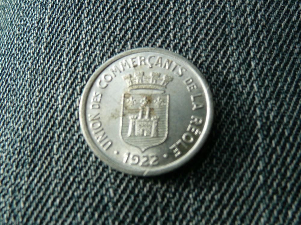 Jeton 5 centimes La Réole (33) 1922 5 Bordeaux (33)
