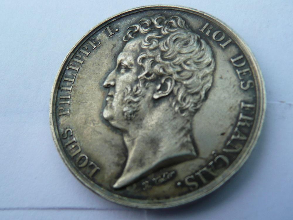 Jeton Louis Philippe I Chambres de Commerce Argent 54 Bordeaux (33)
