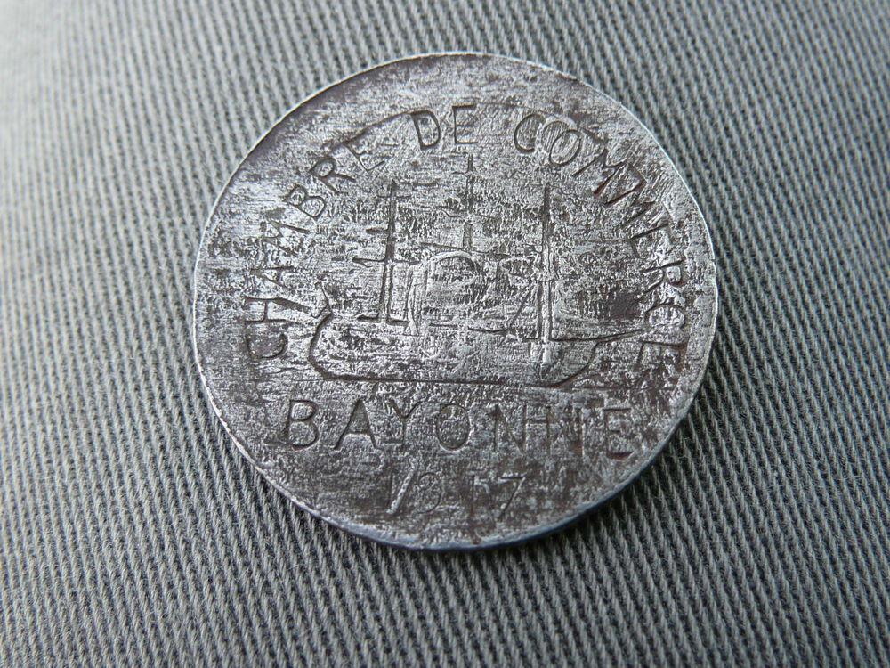 jeton de nécessite 10 centimes 1917 Bayonne 1 Bordeaux (33)