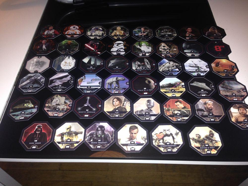 Lot de 46 jetons (Star Wars) édition Rogue one  3 Clichy (92)