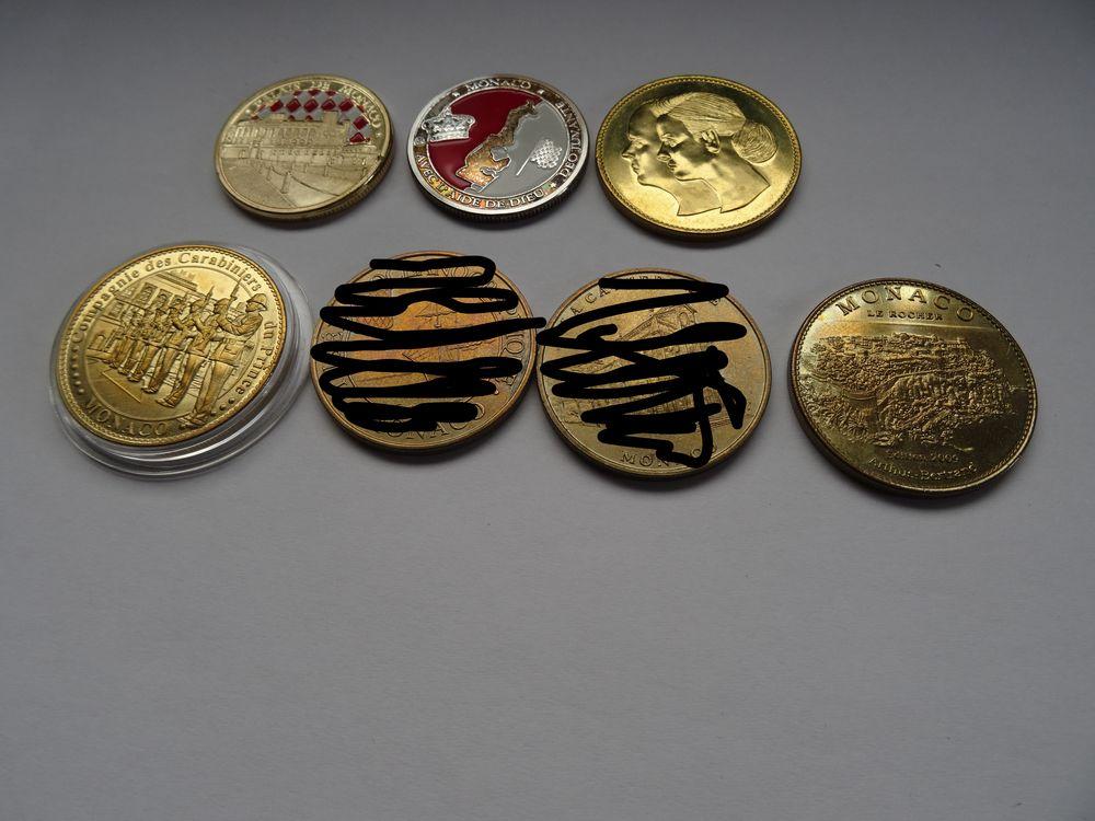 jetons touristique et médailles de Monaco 5 Merville (59)