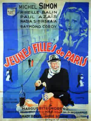 JEUNES FILLES DE PARIS ( mireille  Balin ) 1937 0 Malo Les Bains (59)