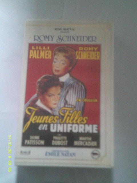 JEUNES FILLES EN UNIFORME avec romy schneider DVD et blu-ray
