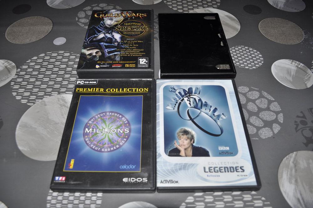 Lot de jeux PC/CD ROM avec entre autre  Le maillon faible  5 Perreuil (71)