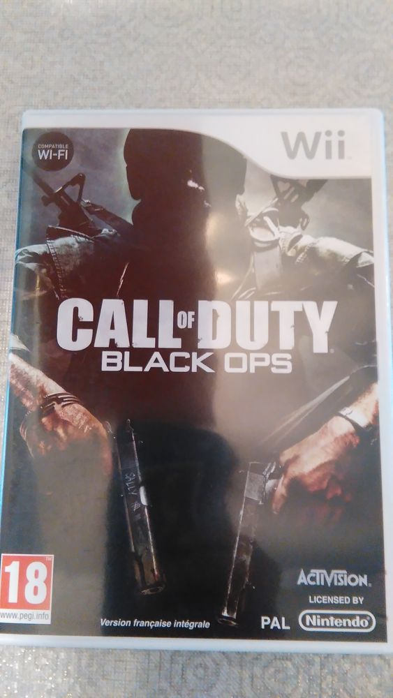 Jeux call of duty Black ops Wii 5 Isbergues (62)