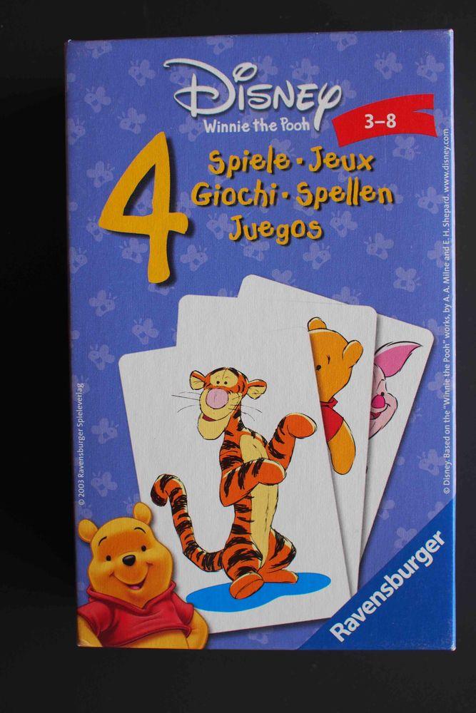4 JEUX DE CARTES -Ravensburger 3 Rennes (35)