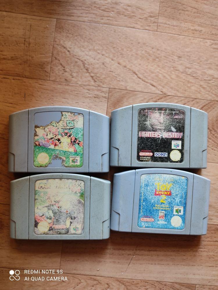 jeux cartouche Nintendo 64 200 Saint-Raphaël (83)