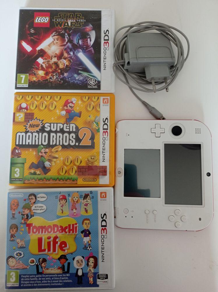 3DS + 4 jeux+ chargeur Consoles et jeux vidéos