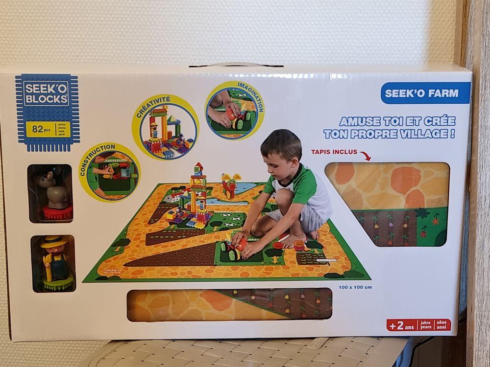 Jeux de construction sycomore -seek'o farm  35 Vitré (35)