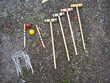 Jeux de croquet en bois Jeux / jouets