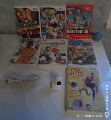 Lot de 7 jeux Wii dans leurs boites d'origine 65 Saint-Péray (07)