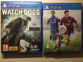 Jeux PS4 divers (Watch_Dogs, Fifa15&16, W2K15,Tour France16) 25 Draguignan (83)