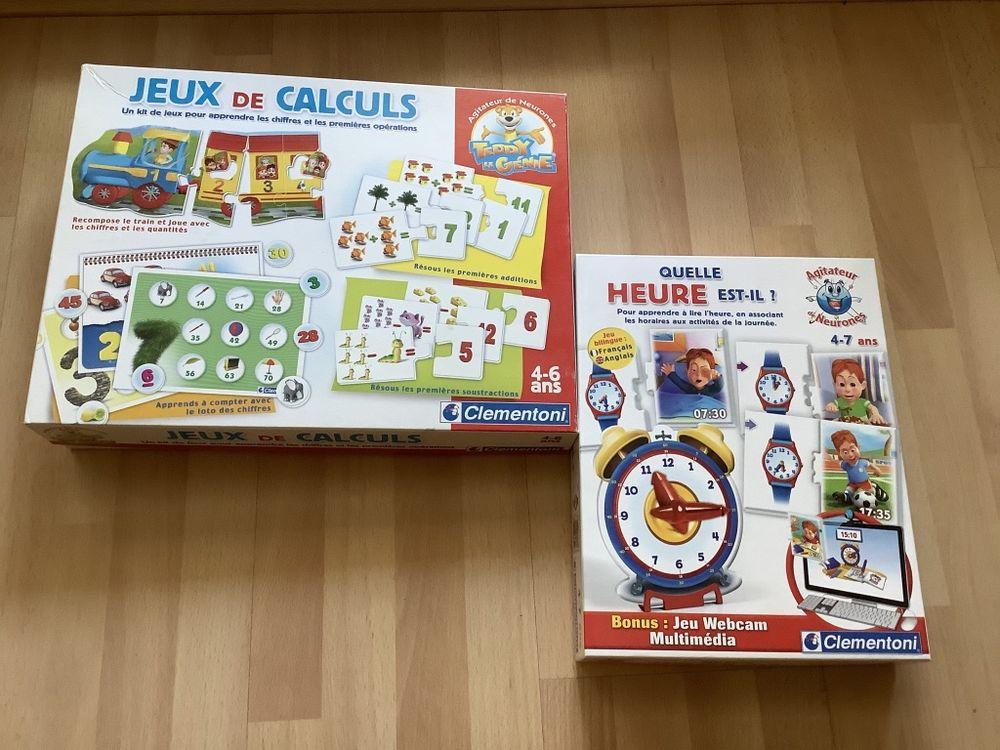 2 jeux éducatifs clementoni 4-7 ans 8 Lille (59)