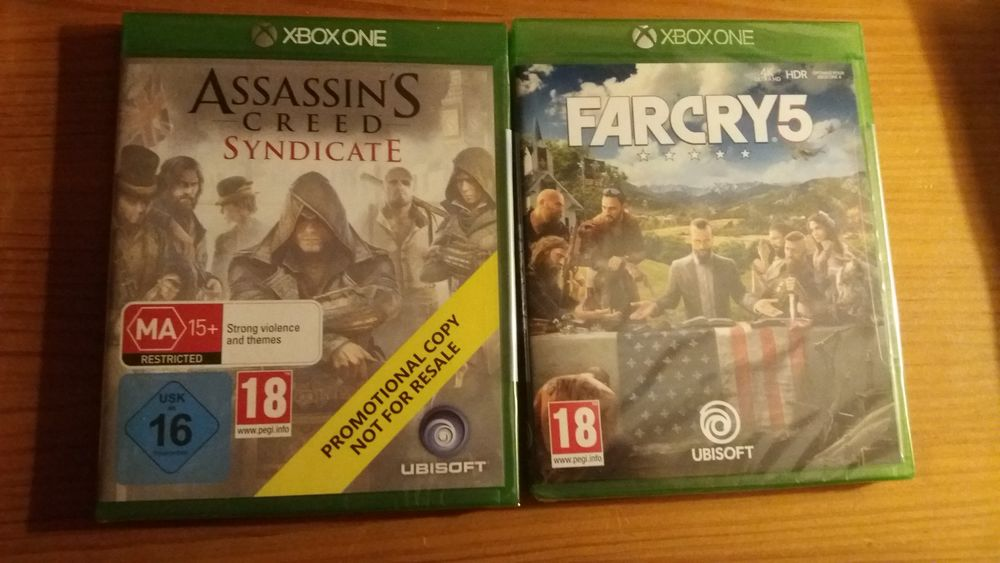 Jeux FarCry 5 et Assassin's Creed Syndicate XBOX ONE Neufs 42 Boulogne-Billancourt (92)