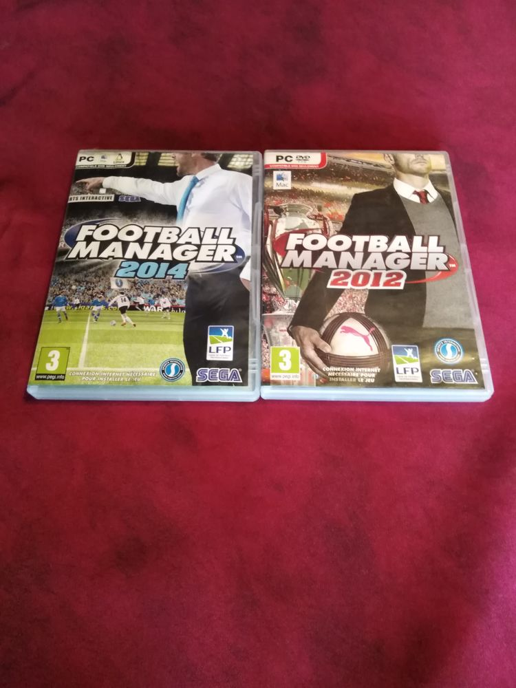 2 jeux PC football manager 2012 et football manager 2014 4 Avermes (03)