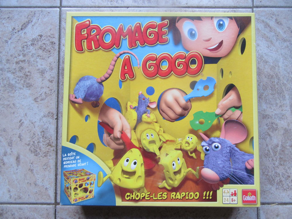 Jeux  Fromage a gogo  10 Beauvais (60)
