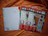Jeux d'Intercalaires Alphabétiques et Jeux Mensuels 1 Bouxwiller (67)