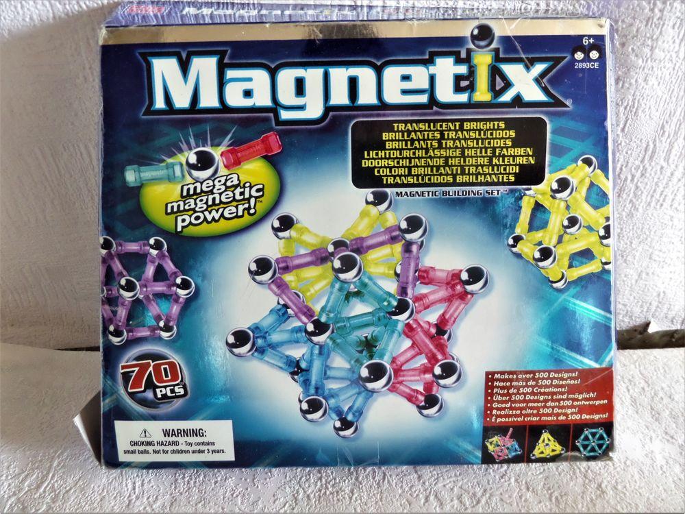 jeux magnetix 70 pieces 15 Lyon 8 (69)