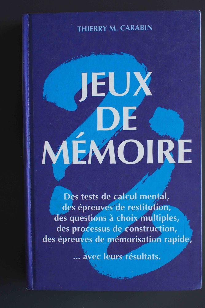 Jeux de mémoire - Thierry M Carabin, Livres et BD