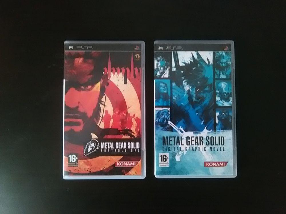 Jeux PSP Metal Gear Solid 10 Paris 11 (75)