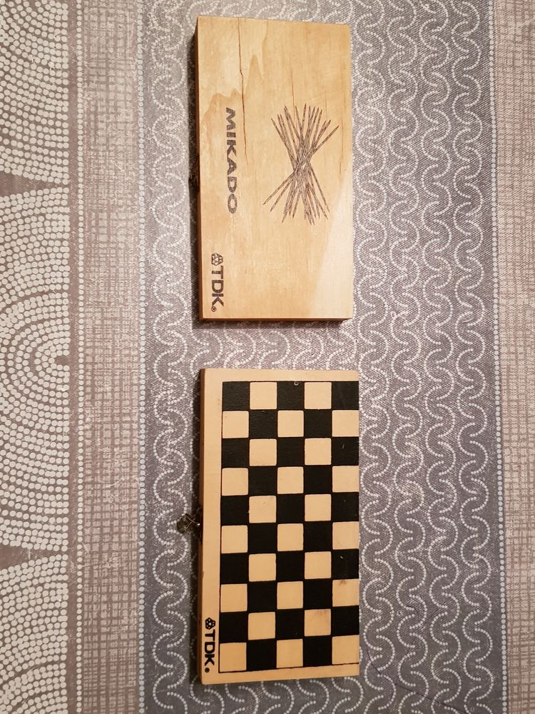 Jeux mikado  dispo 10 boite et jeux dame et backgammon voyag 5 Rethel (08)