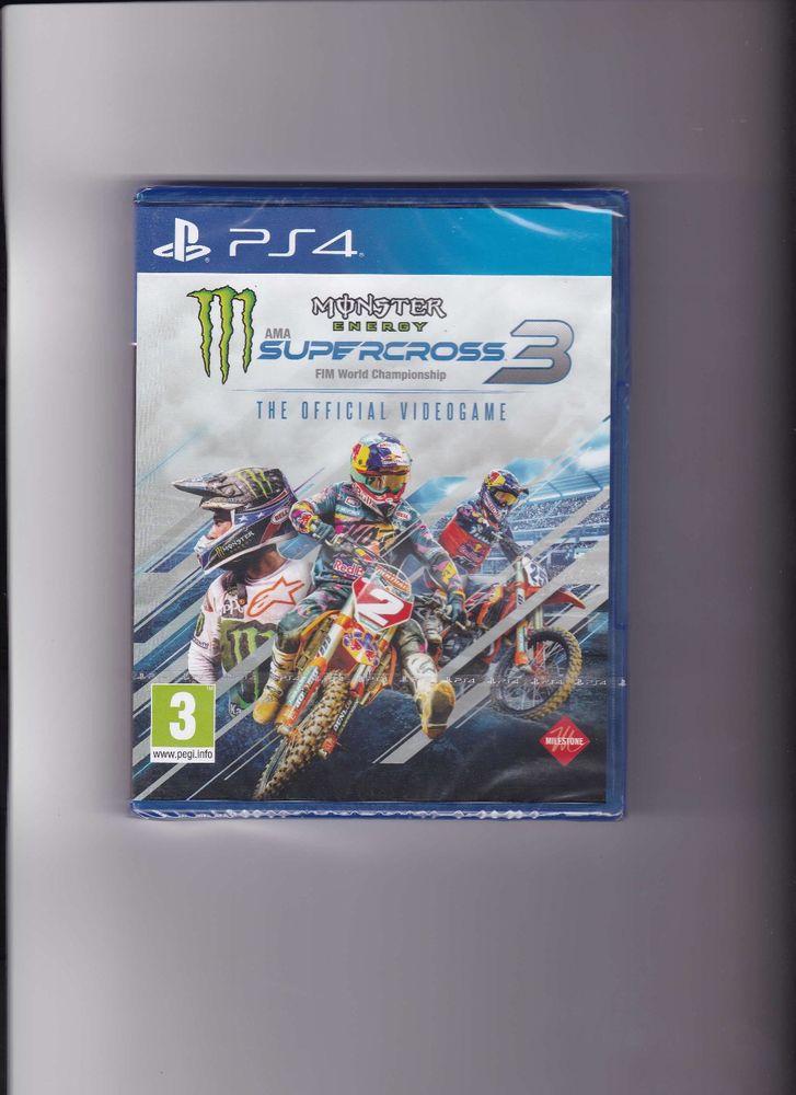JEUX PS4 MONSTER SUPERCROSS 3 NEUF SOUS BLISTER 25 Le Thor (84)