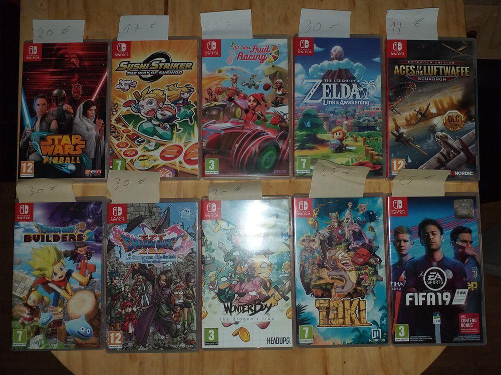 jeux Nintendo Switch (voir liste et prix dans l'annonce)  20 Sars-Poteries (59)