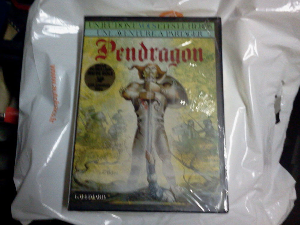 Jeux  Pendragon . USA. 25 Paris 15 (75)