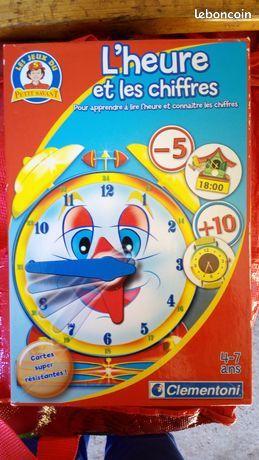 Les jeux du petit savant - L'heure et les chiffres 4 Veynes (05)