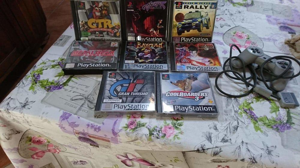 Jeux PlayStation 1  100 Le Gault-Soigny (51)