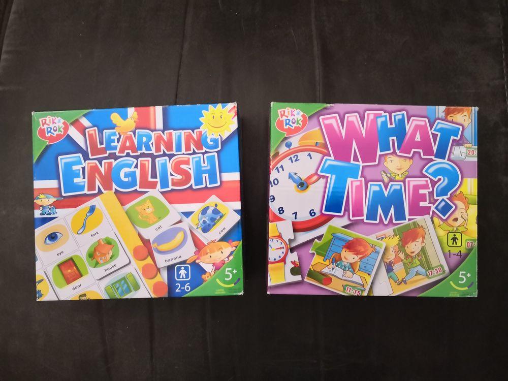 Lot de 2 jeux pour apprendre l'anglais (Rik&Rok) 4 Le Grand-Quevilly (76)