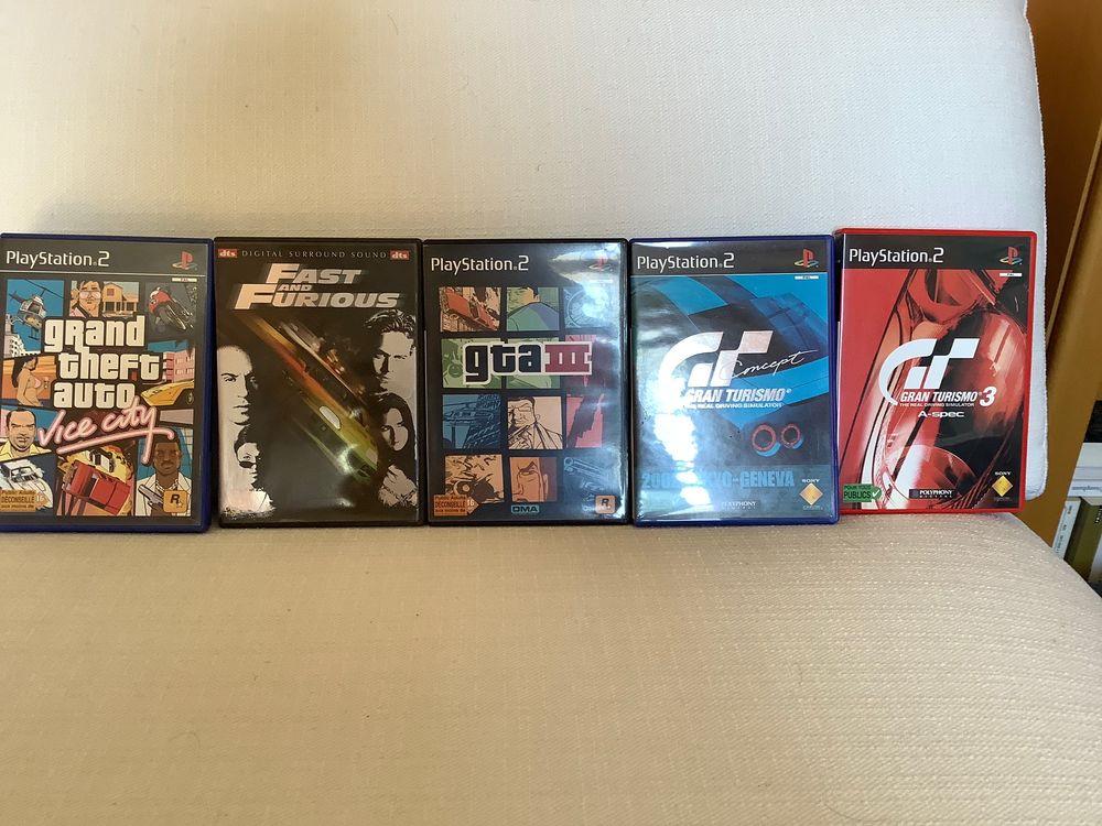 Jeux pour PS 2 5 Grasse (06)