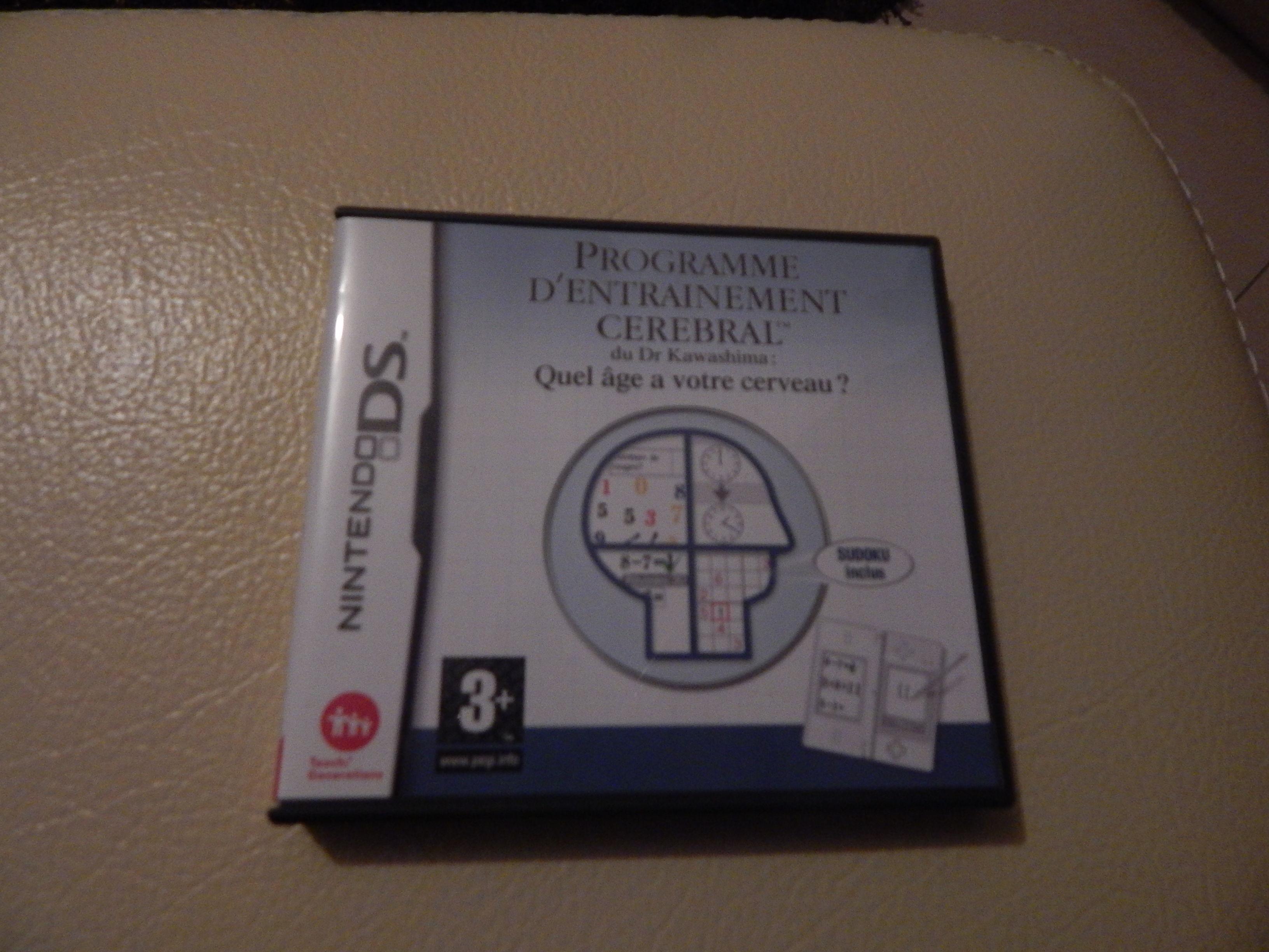 Jeux DS programme d'entrainement cérébral 17 Pont-Péan (35)