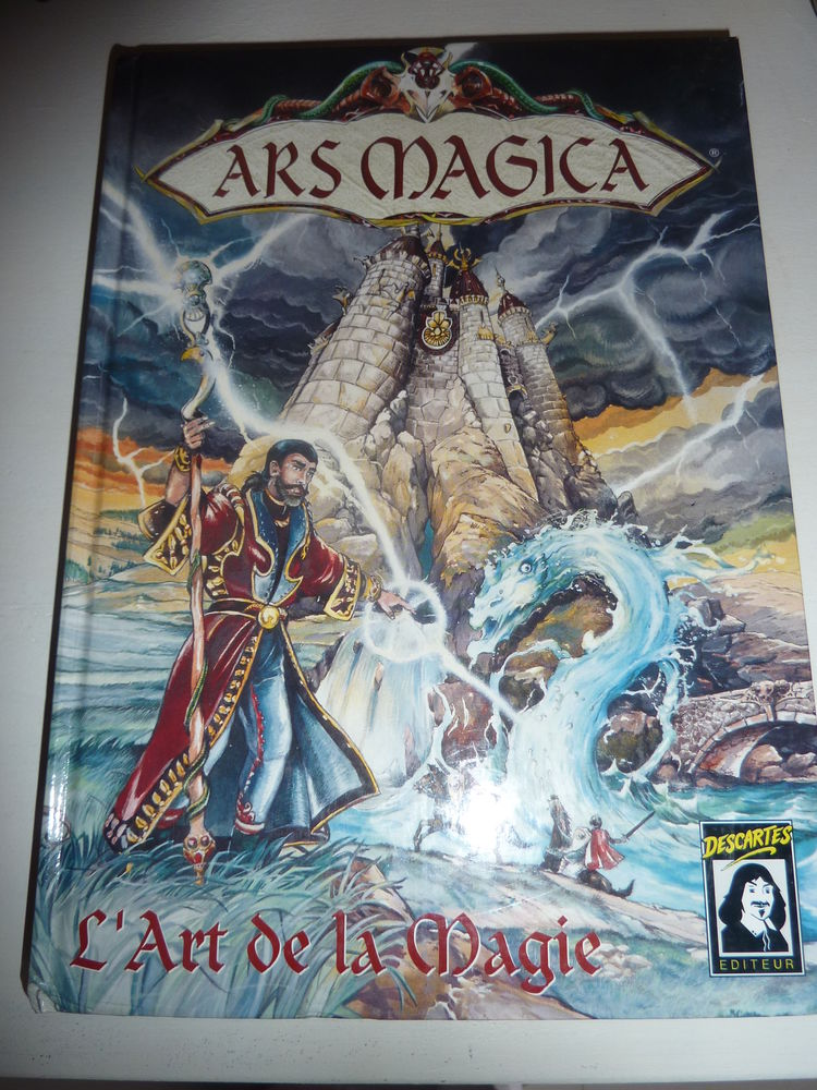 jeux de rôle ; ARS MAGICA 40 Plaisir (78)
