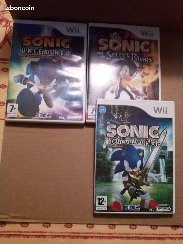 3 jeux wii série Sonic 12 Saint-Loubès (33)