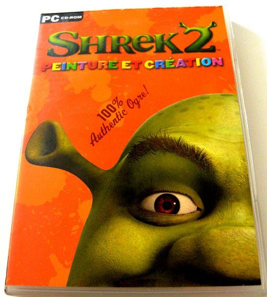 Jeux-pc Shrek 2 peinture et création 4 Saumur (49)