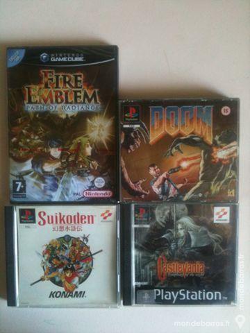 Jeux NES, SNES, PS1, PS2, GC, MS, PC (PAL) 5 Arles (13)