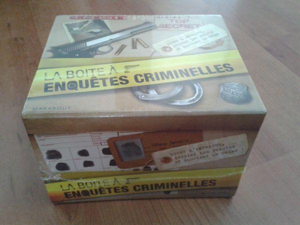 Jeux de société LA BOITE A ENQUETES CRIMINELLES 10 Moissy-Cramayel (77)