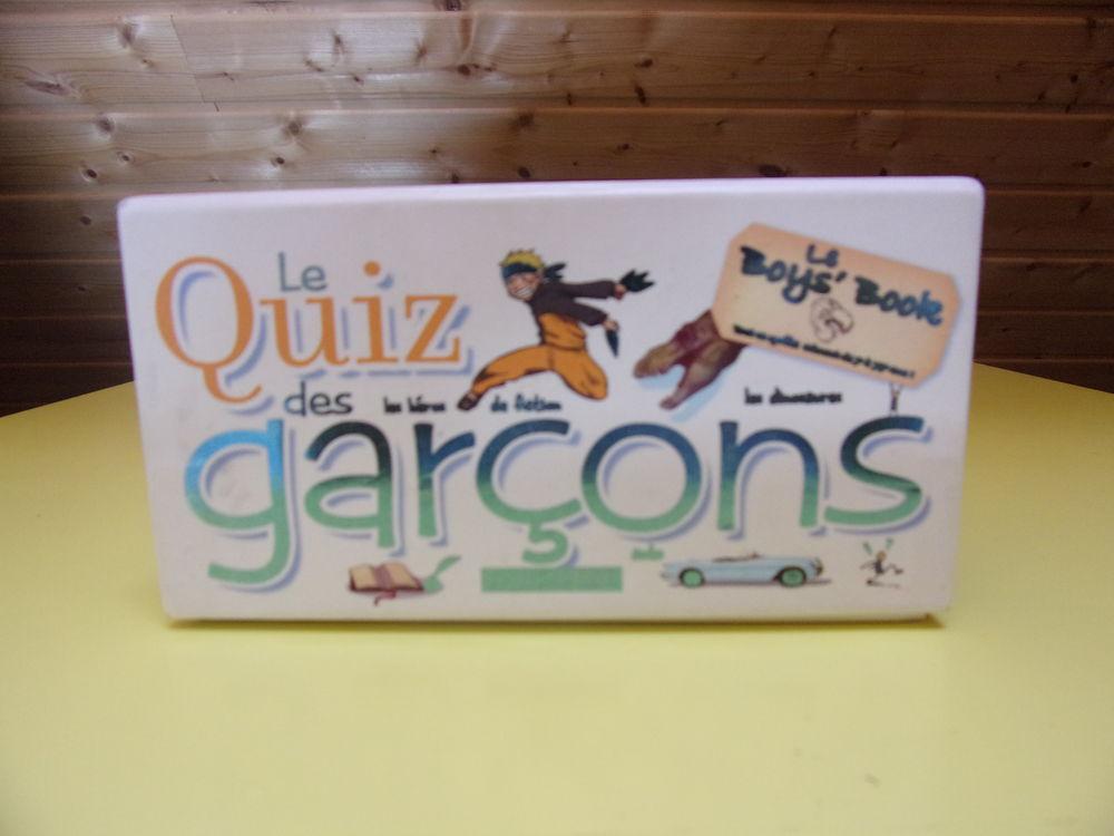 Jeux de société  Le quizz des garçons  6 Châtillon-en-Vendelais (35)