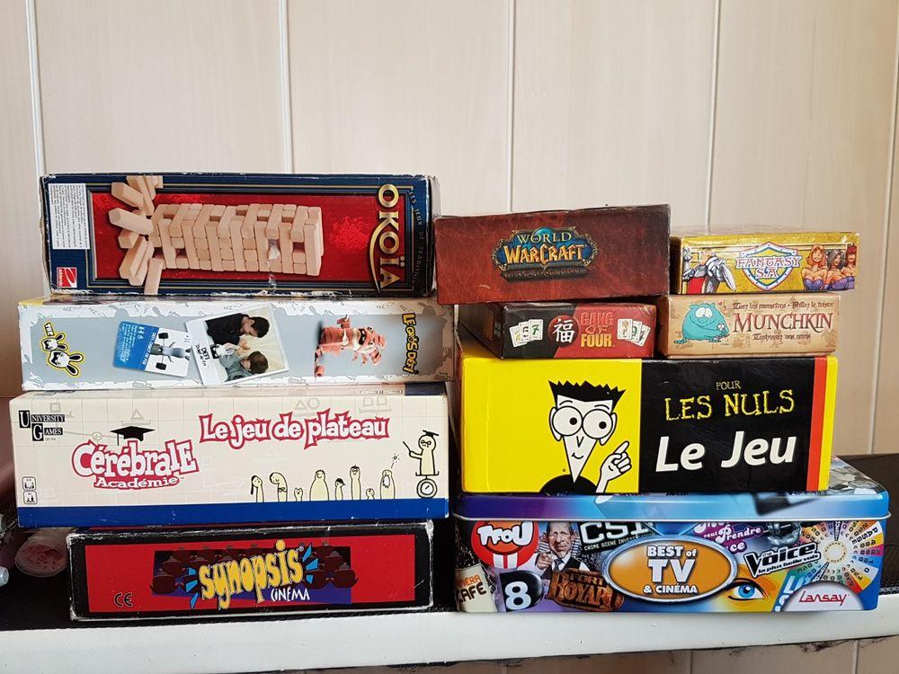 Lot jeux de société 49 Créteil (94)
