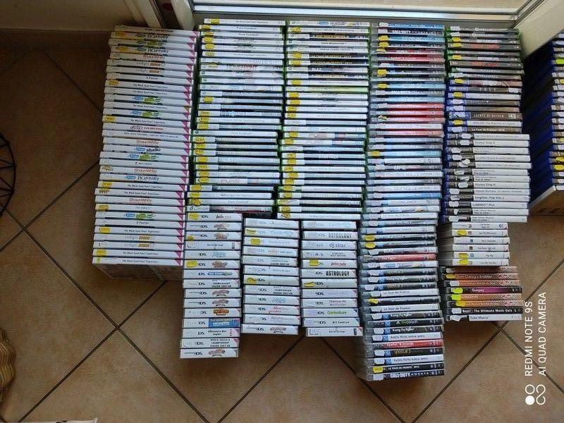 lot 459 jeux video,227 neuf+ 232 occasion 590 Montélimar (26)