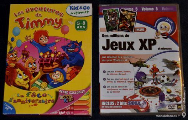 2 Jeux Video Pc Pour Enfants Très Bon état