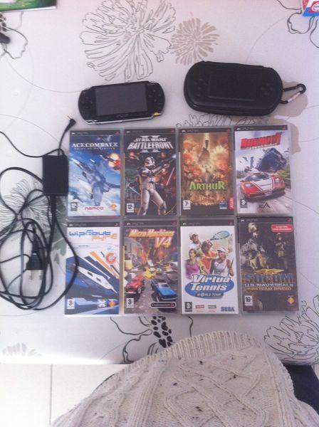 PSP + jeux 100 Arras (62)