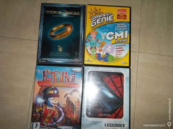 Lot de 4 jeux PS2 5 Marseille 9 (13)